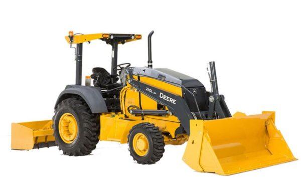 John Deere 210L Tractor Loader Construction Equipment