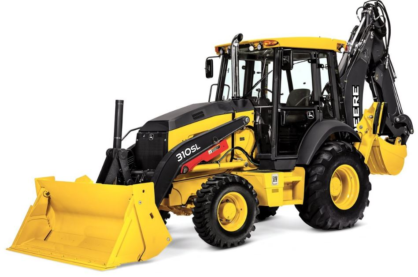 John Deere 310SL Backhoe Construction Equipment