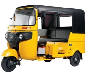 Bajaj RE Optima LPG Auto Rickshaw