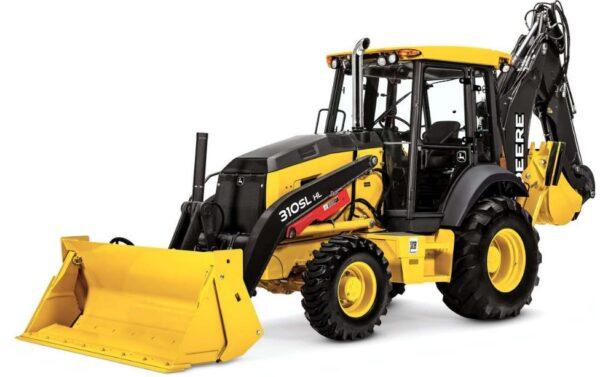 John Deere 310SL HL Backhoe Loader Construction Equipment