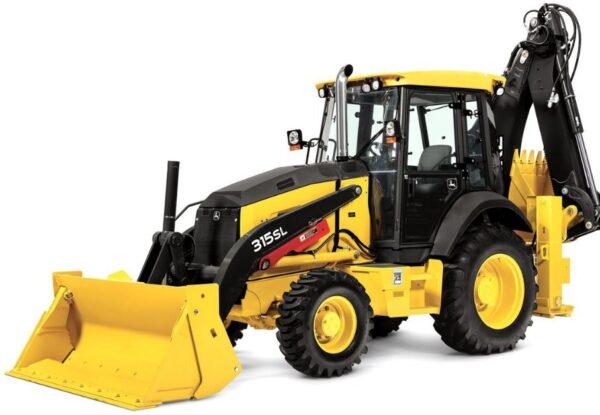 John Deere 315SL Backhoe Construction Equipment