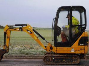 Caterpillar 301 4C Mini excavator