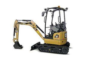 Caterpillar 301 7D CR Mini Hydraulic Excavator