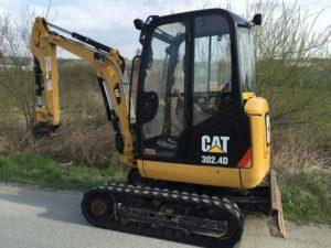 Caterpillar 302 4DMini Excavator price