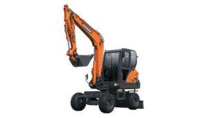 DOOSAN DX53W Wheel Excavators