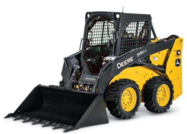 John Deere 316GR Skid Steer Construction Equipment
