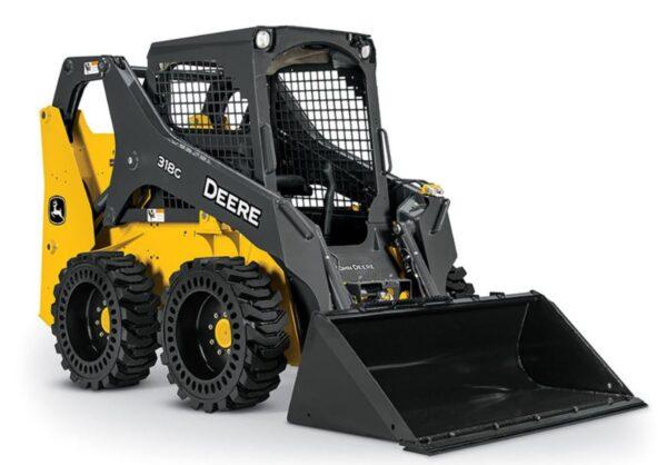 John Deere 318G Skid Steer Construction Equipment