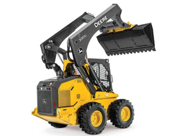 John Deere330G Skid Steer Construction Equipment