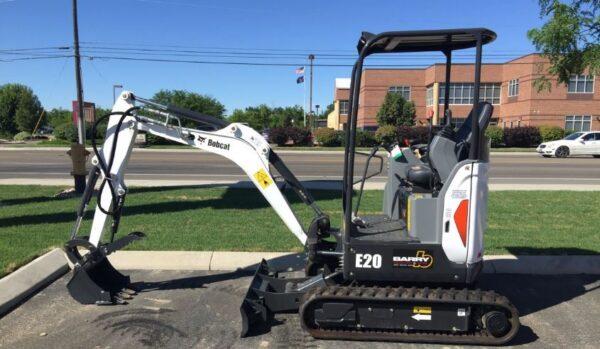 Bobcat E20 Compact Excavator Key Facts