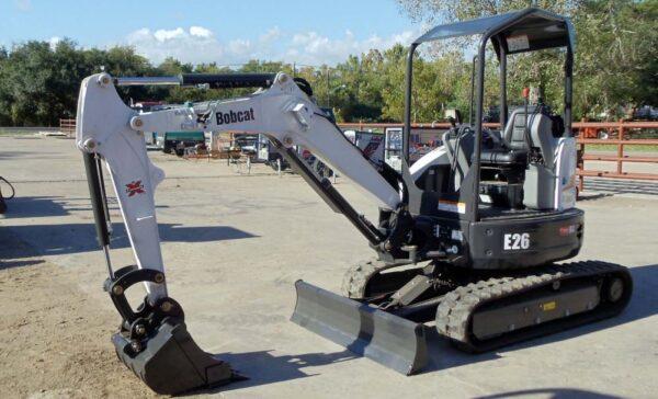 Bobcat E26 Mini Excavator Overview