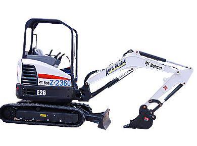Bobcat E26 Mini Excavator Specifications