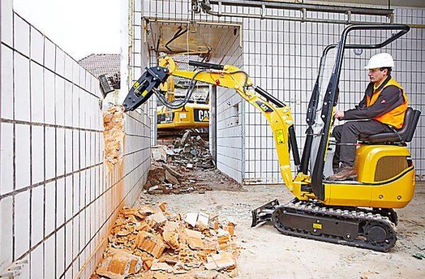 CAT 300.9D Mini Excavator Features