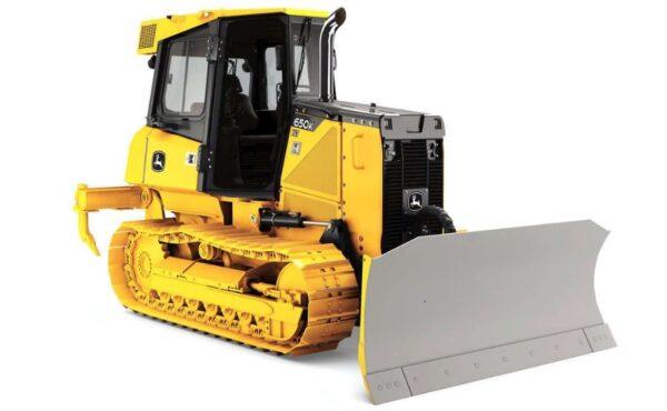 John Deere 650K Crawler Dozer Construction Equipment