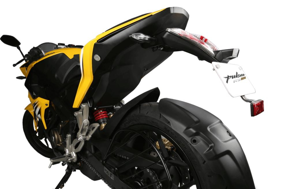 bajaj pulsar rs 200 Bike suspension