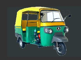 Atul Gem PAXX - CNG Auto Rickshaw Price in India