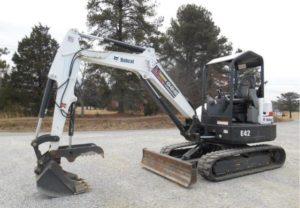 Bobcat E42 Mini Excavator Price
