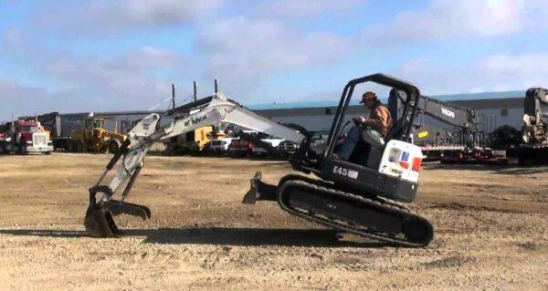 Bobcat E45 Mini Excavator Overview