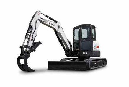 Bobcat E45 Mini Excavator Specifications