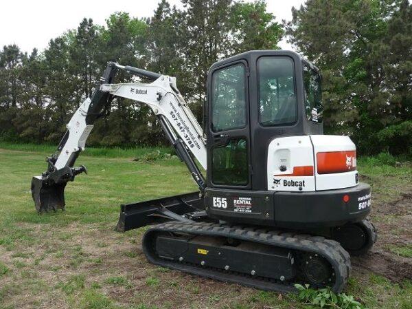 Bobcat E55 Mini Excavator specifications