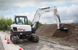 Bobcat E85 Mini Excavator
