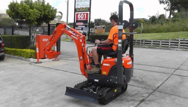 Kubota K008-3 Mini Excavator