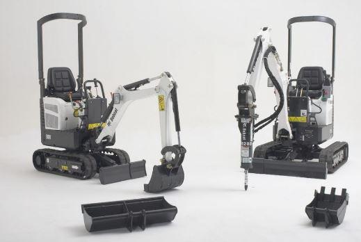 Bobcat E10 Compact Excavator specs