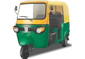 Piaggio Ape City CNG auto rickshaw price in india