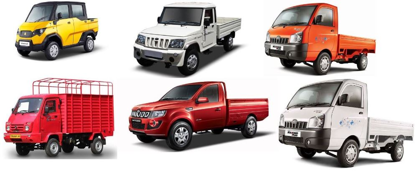 best mini truck price list in india