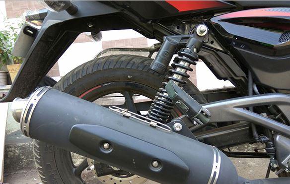 Bajaj Pulsar 220 F suspension