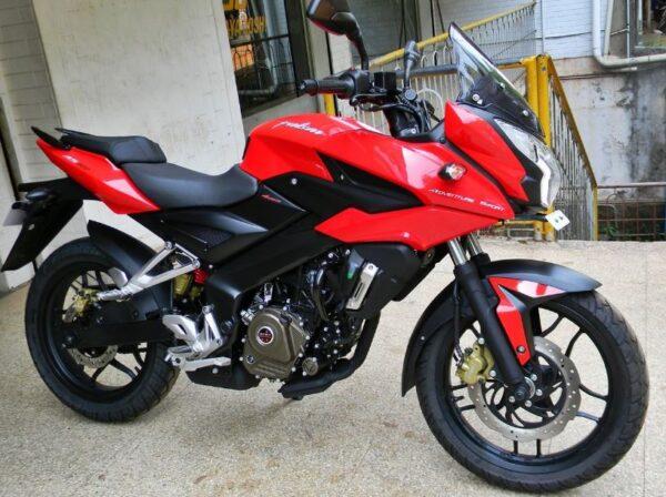 Bajaj Pulsar AS 200 red