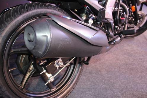 Honda CB Unicorn 160 suspension