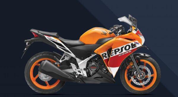 Honda CBR 250R price list in india
