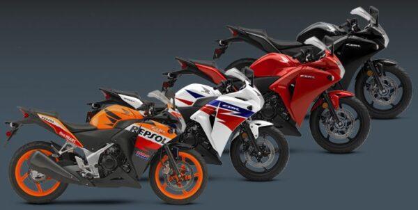 Honda CBR 250R colors