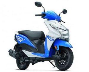 Honda Dio DLX scooter mileage