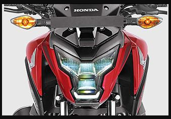 Honda X blade headlamp