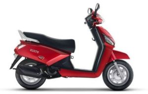 Mahindra Gusto HX scooter mileage