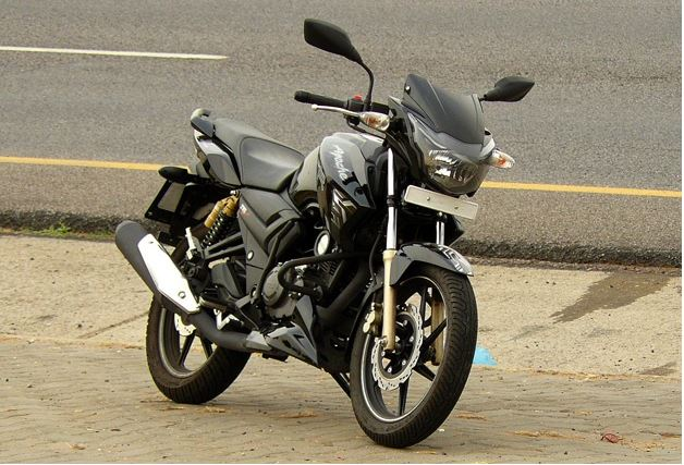 TVS Apache RTR 180 on road price list in india