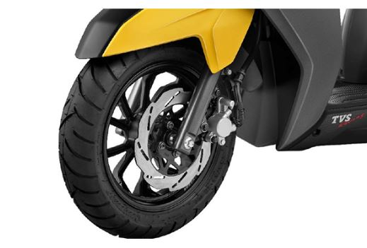 TVS NTORQ 125 brakes