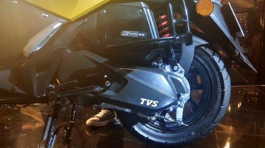TVS NTORQ 125 engine