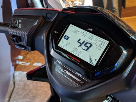 TVS NTORQ 125 technology