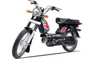 TVS XL HD scooter mileage