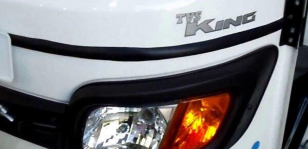 TVS king fully electric auto rickshaw