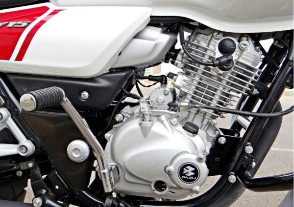 bajaj V Bike engine