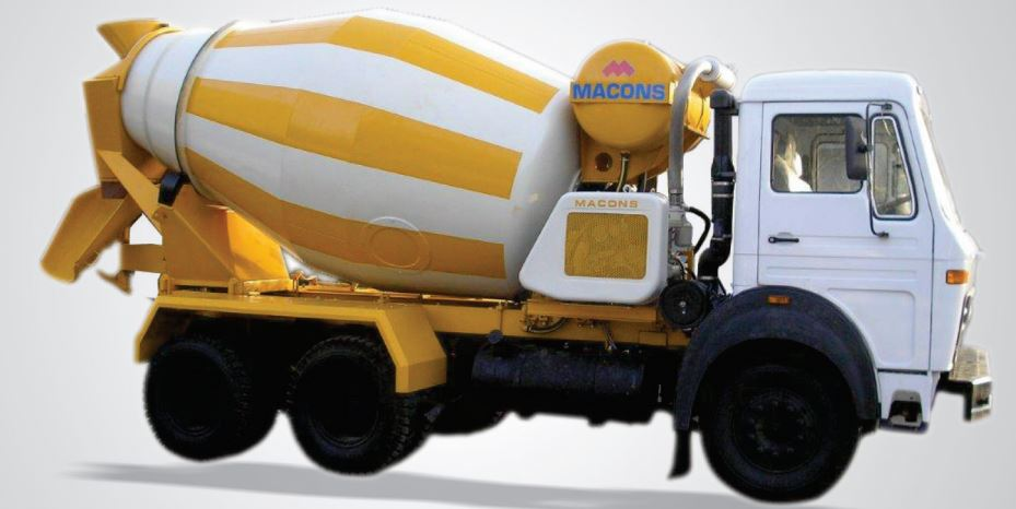 Macons Transit Mixer Price Specifications Features & Images