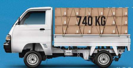 Maruti Suzuki Super Carry Diesel mini truck dimensions