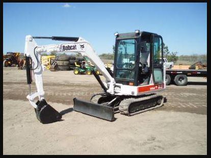 Bobcat 331 Mini Excavator Price