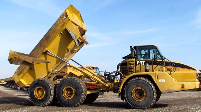 CAT 740 Articulated Dump Truck specifications