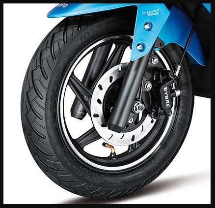 Hero Maestro Edge 125 Scooter tyres