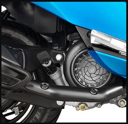 Hero Maestro Edge 125 scooter engine