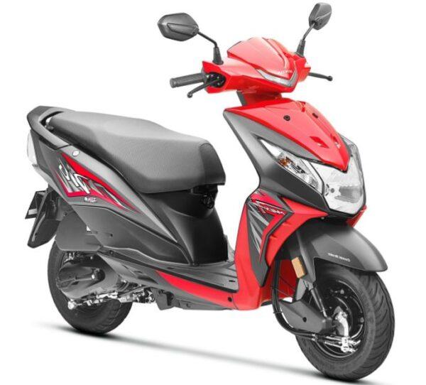 Honda Dio Scooter Mileage